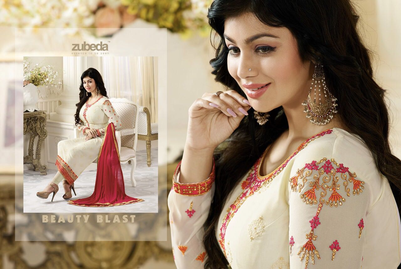 ZUBEDA Indian Pakistan sukienka kobiety Churidar Salwar