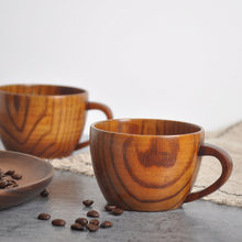 bamboo cups Primitive Drinking Cup Coffee Beer Drinkware Tea Cup Travel Teaware Cup water bottle Home Handmade Wooden Cup Gifts(China)