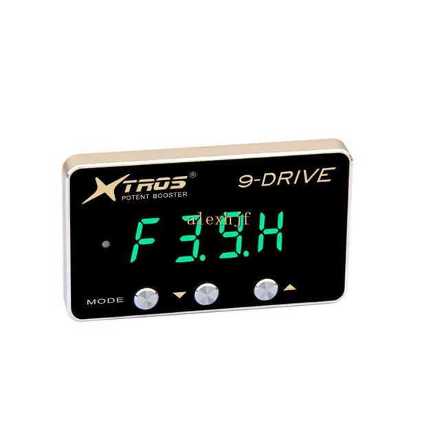 TROS octava 9-Drive Electronic Throttle Controller 5mm para Chrysler 300C DODGE CHALLENGER MAGNUM NITRO Jeep COMMANDER etc