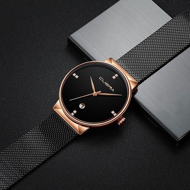 שעון יוקרה עם רצועת רשת 2020 2