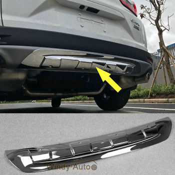 Fit For Honda CRV CR-V 2017 2018 Rear Bumper Guard Plate Trim Chrome ABS