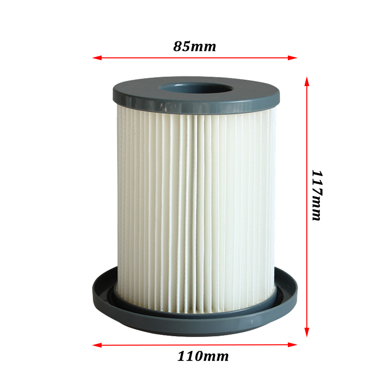 1PC Dust Hepa Filter For Philips FC8732 FC8733 FC8734 FC8736 FC8738 FC8740 FC8748 Robot Vacuum Cleaner Replacement Parts