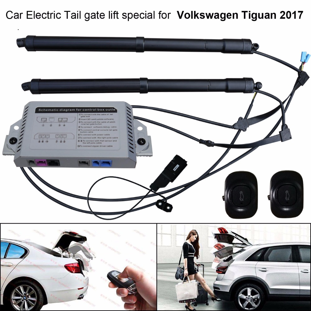 car electric tail gate lift special for volkswagen vw tiguan 2017 easily for you to control [ 1000 x 1000 Pixel ]
