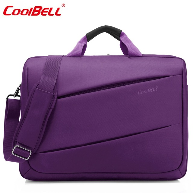 Coolbell 17 3 Inch Laptop Messenger Bag Multi Functional Briefcase Compartment Handbag