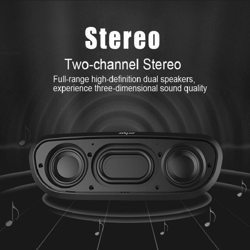 Zealot S9 Prijenosni zvučnik Bežični BluetoothStereo Hifi - Prijenosni audio i video - Foto 4