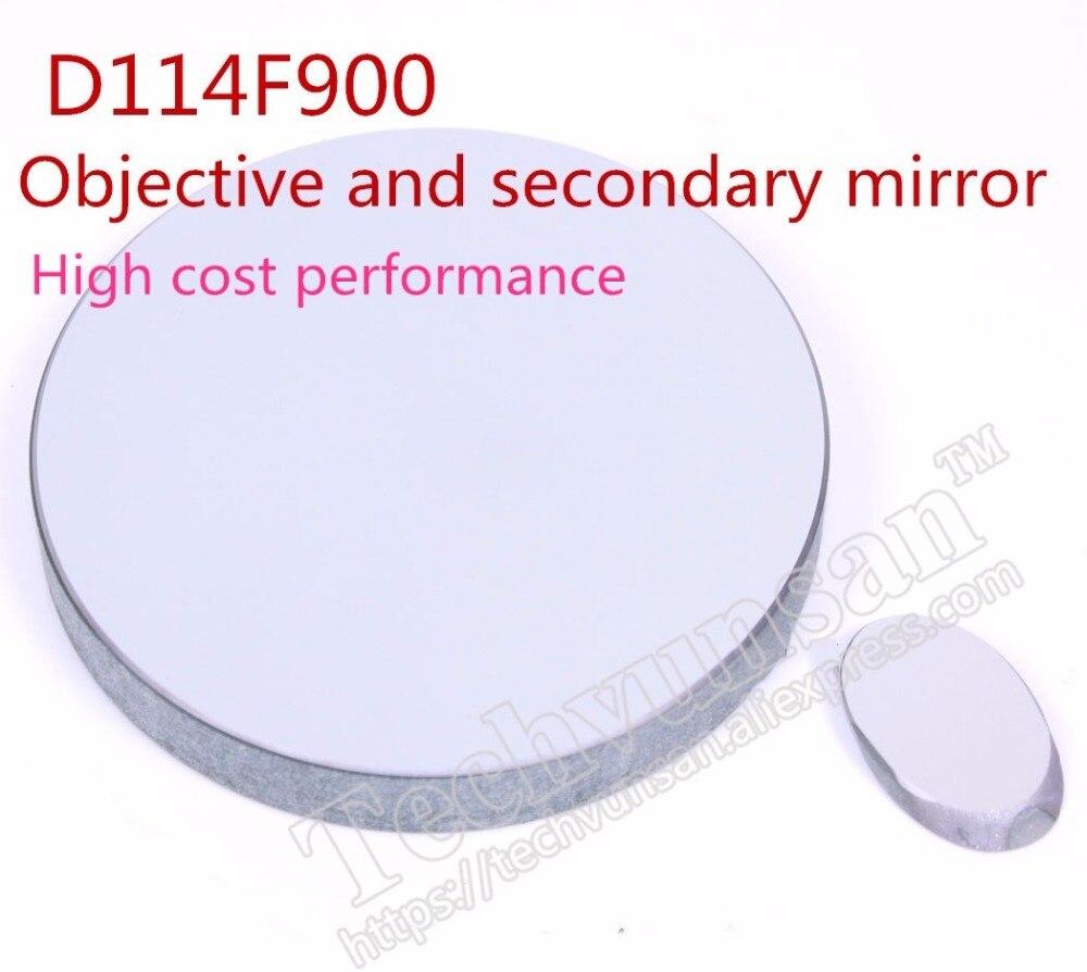Бесплатная доставка ньютоновской телескоп D114F900 отражение объектив вторичного зеркала диаметр и 114 фокусное расстояние 900