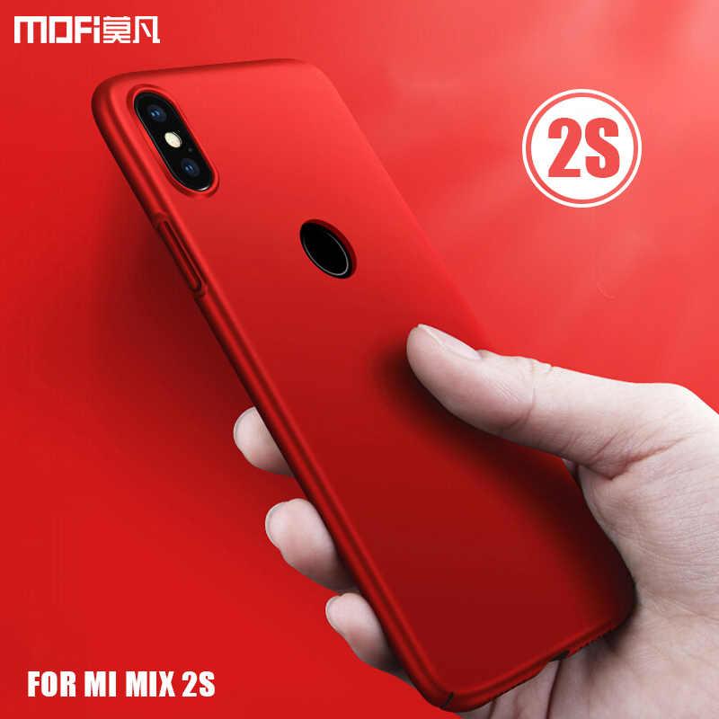 Чехол для mi x 2 s, MOFI для Xiaomi mi Mix 2 S, Жесткий Чехол для задней панели из поликарбоната, чехол для mi x 2 s, полное покрытие mi x2s, матовый чехол, чехол