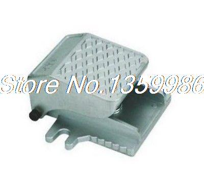 1pcs 3 way 2 position 1/4 BSP Pneumatic Foot Operated Pedal Valve Spring return 2 position 3 way 1mpa momentary pneumatic foot operated pedal air valve switch