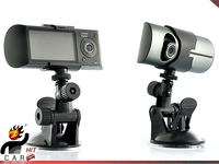 CAR DVR GPS Function Dual Lens 2 7 LCD Camera Recorder Video With GPS Logger And