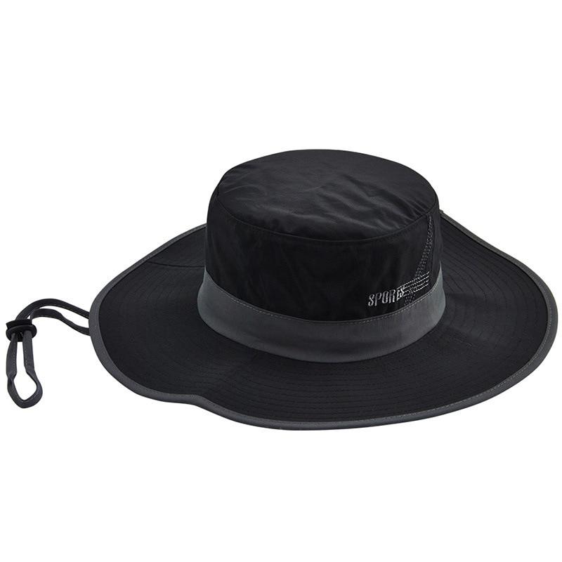 Adorel Little Boys Bucket Sun Hats Anti-UV Wide Brim Summer