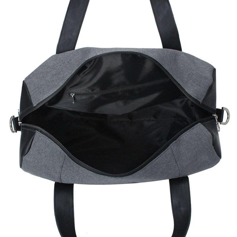 homens bolsa de viagem com Main Pocket : Double Zipper Sliders