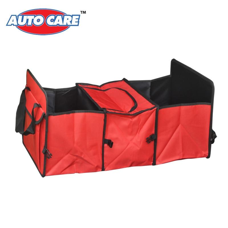 Auto Care font b Car b font trunk storage bag Oxford Cloth folding truck storage box