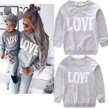 Семейный комплект одежды футболка для мамы и ребенка Одинаковая одежда для мамы и дочки г. Весенне-осенняя одежда для мамы и сына 5fy013