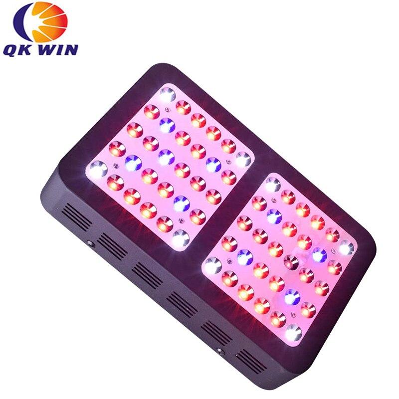 Отражатель двойной чип 600 Вт светодиодный светать 60x10 Вт двойной чип полный спектр для гидропоники посадка доставка