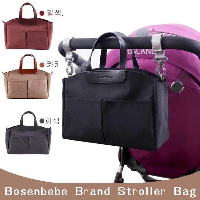 Mummy Diaper Bag Baby Stroller Organizer Baby Care Large Capacity  Diaper Bag Maternity Wet Bag Waterproof Stroller Accessori