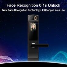Eseye Smart Electronic Door Lock  Safe Smart Face Recognition Door Locks Fingerprint Digital Door Lock Password & RFID Unlock