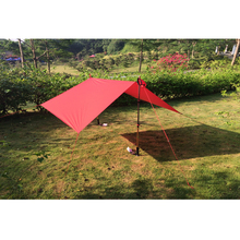 3F UL Gear Ultralight Tarp Lightweight MINI Sun Shelter Awning Camping Mat Tent Footprint 20D Nylon Silicone 210*150cm