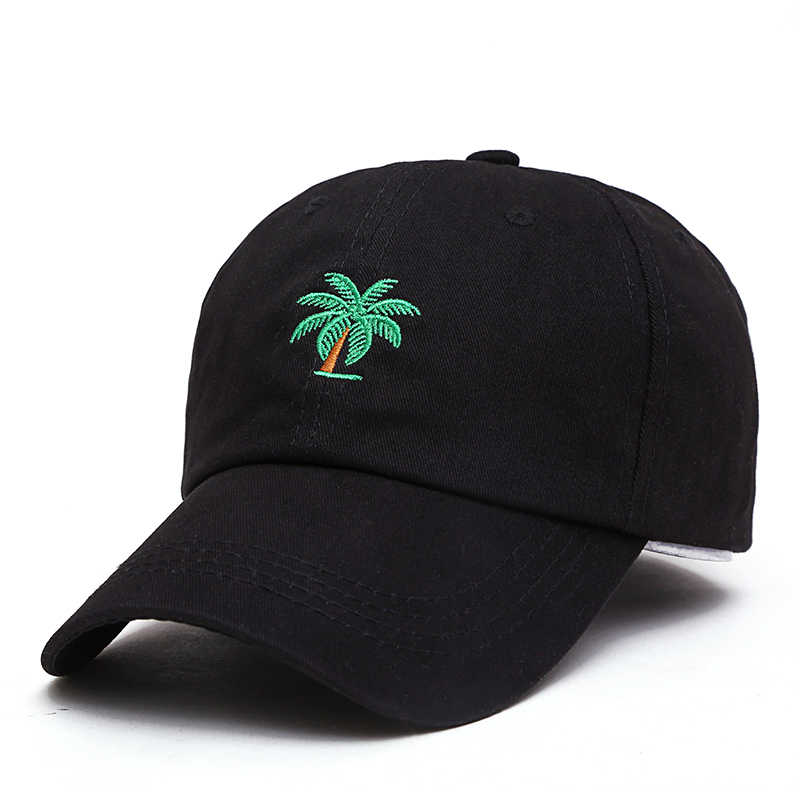 3ebfecd3 ... VORON 2019 new Embroidery Palm Trees Curved Dad Hats Take A Trip  Baseball Cap Coconut Trees ...