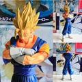 Novo 19 CM Dragon Ball Z A Figura Vegeta Vegetto E Mesclar Kakarotto Coleção Toys presente