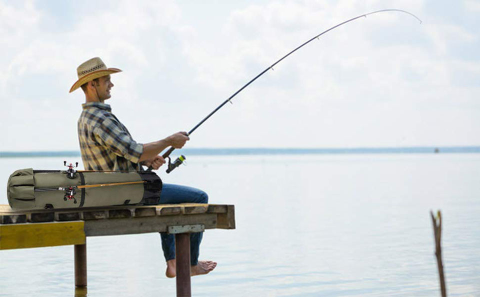 de Pesca Portátil Enfrentar Saco de Armazenamento Ferramentas