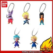 "100% Original BANDAI Gashapon PVC Toy Figure UDM BURST 23 – Set of 5 PCS from Japan Anime ""Dragon Ball Super"""