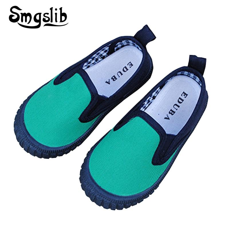 Forår efterår børn lærred sneaker sko børn drenge piger lærred sneakers mærke størrelse 21-33 flad skole sko 2016 sportssko