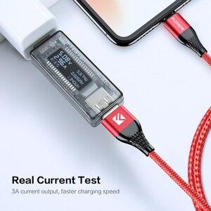 Image 3 - Магнитный зарядный usb кабель FLOVEME, Micro Usb Type C, Магнитный провод для быстрой зарядки, 3 А, для iphone, Samsung, Redmi Note 7, 8, Microusb