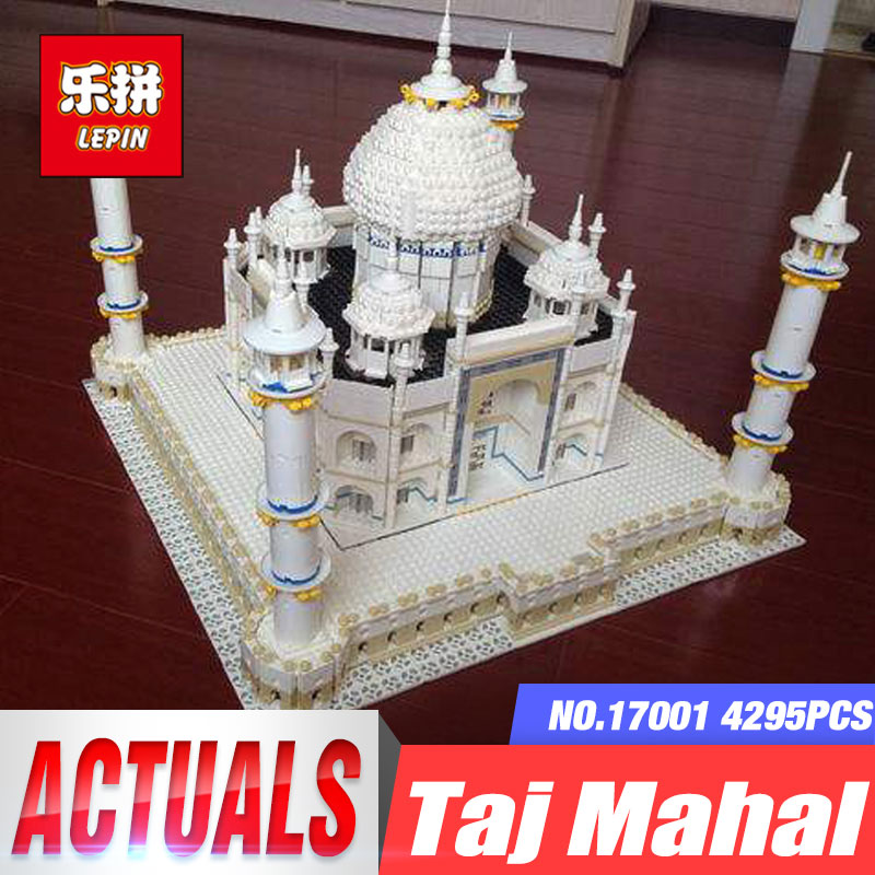 LEPIN17001 City Street Tai Mahal Model Building Blocks Kids Brick Toys Children Christmas Gift Compatible 10189 Educational Toys lepin 02012 city deepwater exploration vessel 60095 building blocks policeman toys children compatible with lego gift kid sets