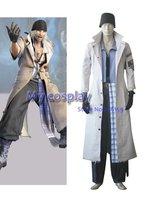 Anime Final Fantasy Cosplay coat Final Fantasy XIII Snow Villiers Halloween Cosplay Costume Freeshipping