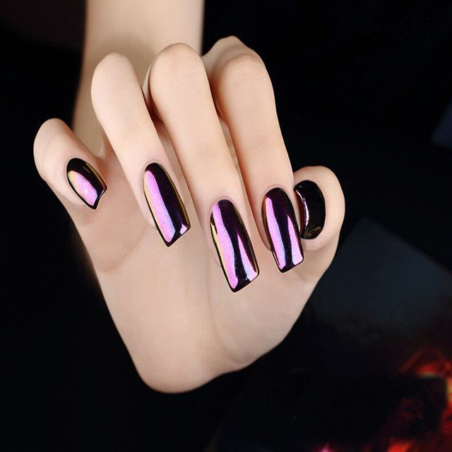 12pcs/Set hot sale gel nail pollish Mirror Powder