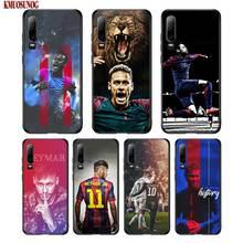 Black Silicon Phone Case JR Neymar For Huawei P8 P9 P10 P20 P30 Pro Lite P Smart Plus Y6 Y7 Y9 2019 2017 цена
