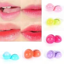 New Ball Lip Balm Lipstick Organic Ingredients Lip Protector Sweet Taste Fruit Embellish Lip Ball Makeup Lipstick Gloss