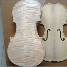 """4/4 скрипка хорошая копия """"лаурентей гуадагнини"""" 1746 без лакировки Топ и назад без клея скрипка"""