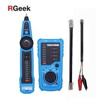 ¡Gran calidad! RJ11 RJ45 Cat5 Cat6, rastreador de Cable telefónico, rastreador de tóner, Detector de probador de Cable de red LAN Ethernet, herramienta de buscador de línea