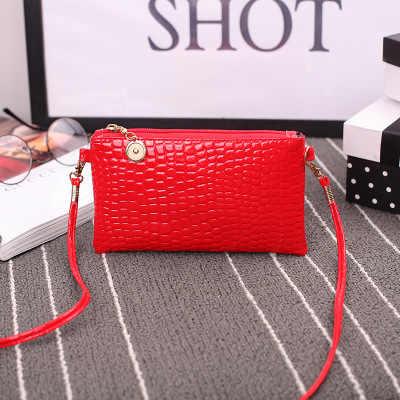 Women shoulder bag solid crossbody bag Clutch Zipper cell phone coin purse fashion small ladies bags handbag bolsa feminina