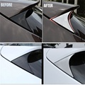 FIT FOR 2015 2016 HYUNDAI TUCSON TL SIDE REAR WINDOW SPOILER COVER TRIM TRIANGLE GARNISH BEZEL Car Styling ACCESSORIES