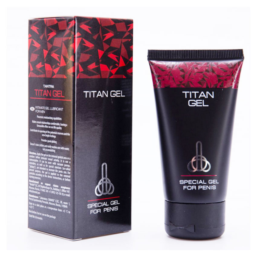 1tubes Imported Russian Titan Gel 50g,Pes