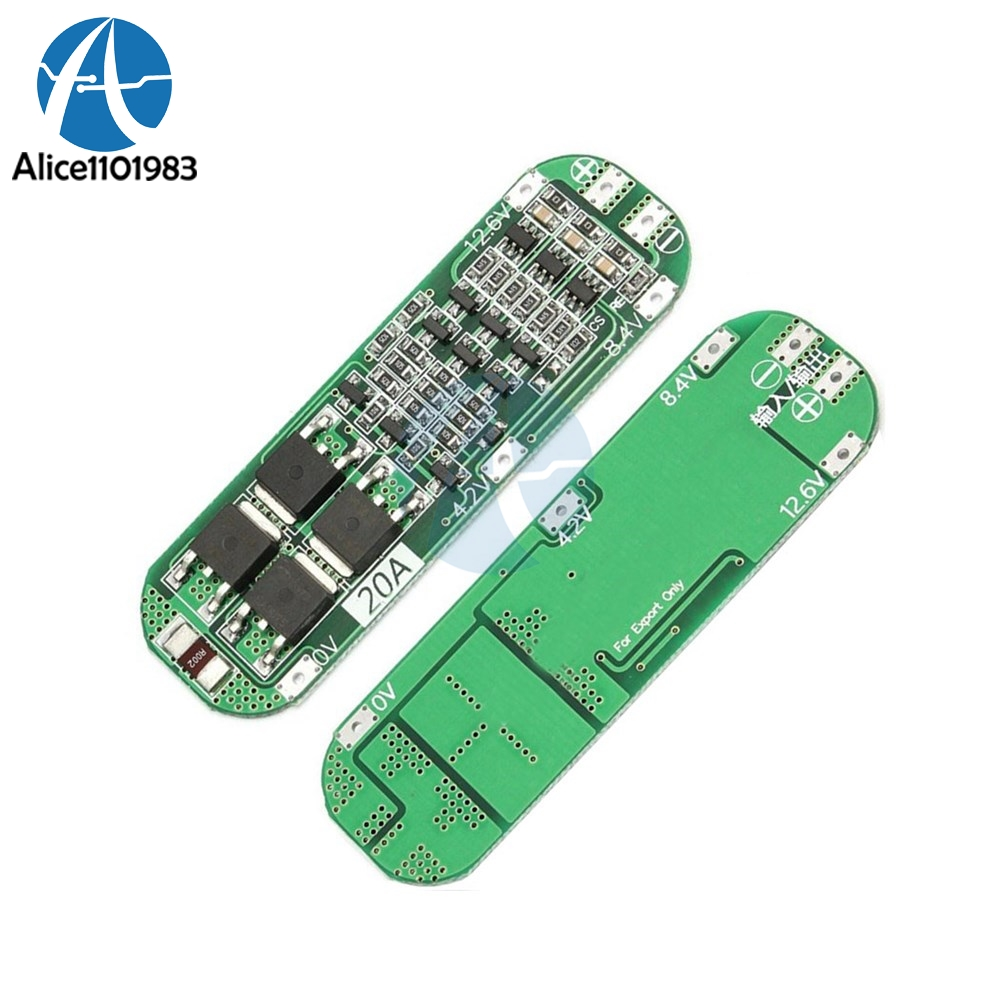 Detail Feedback Questions About 5pcs 3 Serial Cell 3s 20a Bms Li Ion 108v 111v Lithium Battery Protection Circuit Board 18650 Charger Pcb 126v Module Overcharge Overcurrent Short