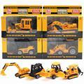 Nova chegada 1: 64 cars diecast liga veículos de engenharia caminhão modelo de carro de brinquedo de metal dinky toys for kids aleatória enviado brinquedos