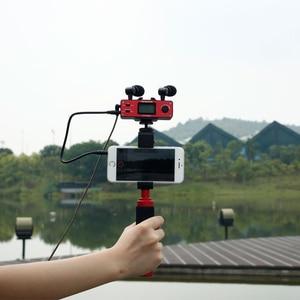 Image 5 - Микрофон Saramonic SmartMixer для смартфона, видеокамеры, ручной микрофон для записи, стерео микрофон для iPhone, Samsung, Android