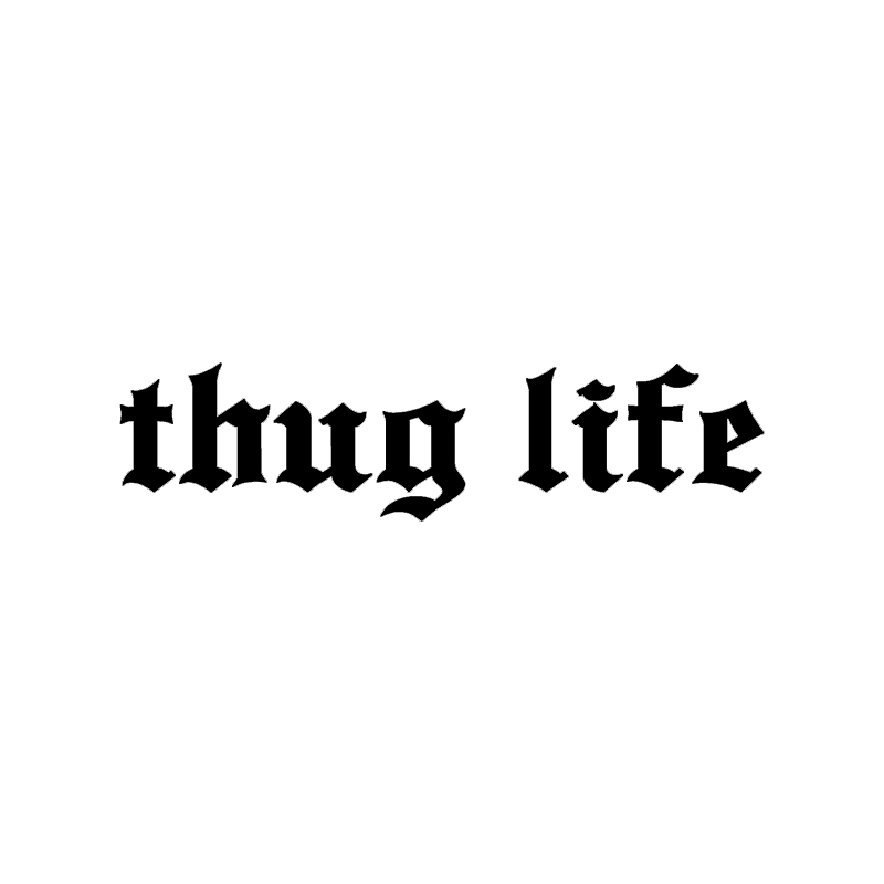 Buy sticker thug life and get free shipping on aliexpress com