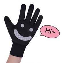 Smile Pattern Waterproof Cycling Gloves Winter Bicycle Bike For Men Women Warm for Happier Safer
