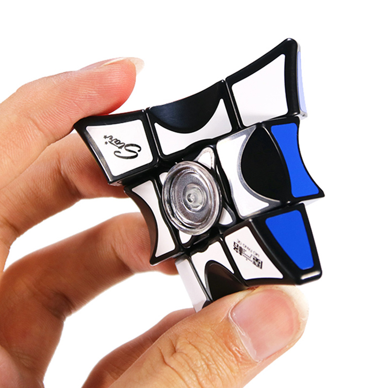 QiYi 2018 Magic 1*3*3 Cube Speed Top Fidget Cubo 3*3 Puzzle MoFanGe Finger For Children Adult Education Toys Neo Magico Spinner
