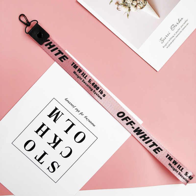 LLavero de cinta rosa para mujer funda de teléfono cartera llavero puerta clef para bolsa llavero llaveros mujer sleutelhanger Chaveiro