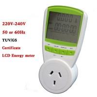 Digital Energy Saver energy Power Meter tester Electric Wireless Watt Consumption Monitor Analyzer energy meter AU plug