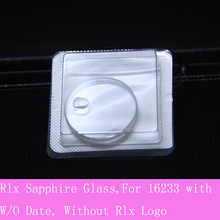 30.4mm החלפת ספיר קריסטל זכוכית לrlx DateJust 36mm 16233