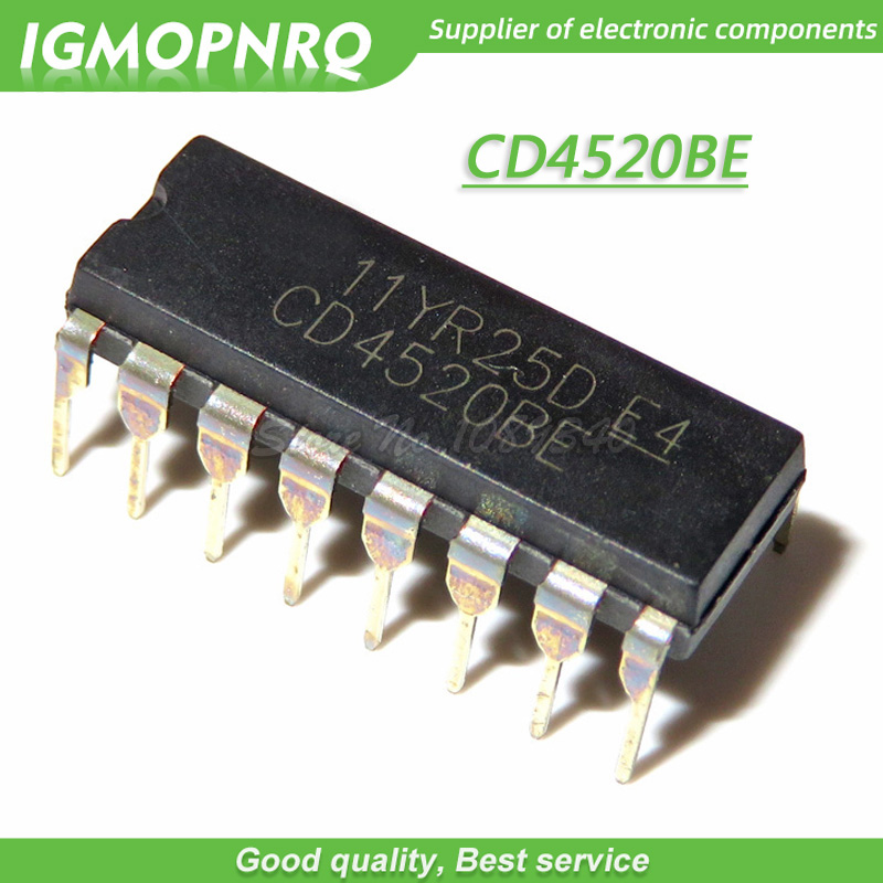 CD4520BE INTEGRATED CIRCUIT DIP-16
