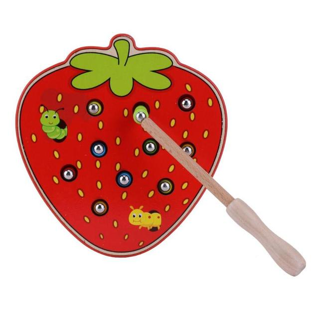 Delicious Strawberry Magnetic Toy for Kids