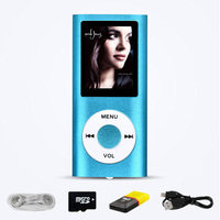 4TH MP3 Mini Player With LCD Screen Support Up To 32 GB SD Card Include SD