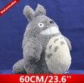 60 cm/23.6 Pulgadas Lindo Japón Anime Felpa Suave Juguetes De Regalo Película Mi Vecino TOTORO Chinchilla Totoro Galesaur para Los Niños